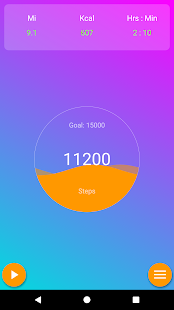 Pedometer & Step Counter - EasyFit Free - náhled
