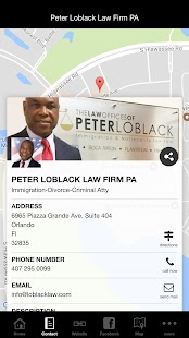Peter Loblack Law Firm PA- screenshot thumbnail