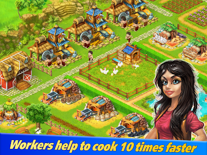 Farm Tribe 3: Cooking Island- screenshot thumbnail