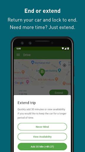 Zipcar screenshots 6