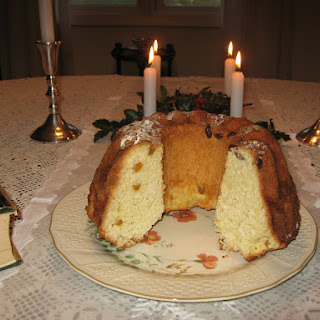 Gugelhopf, Bundt Kuchen -Slightly Sweetened Yeast Bread