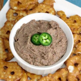 Black Bean Jalapeno Hummus.