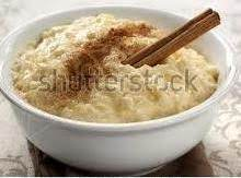 Homemade Old-Fashioned Cinnamon Rice Pudding MIX