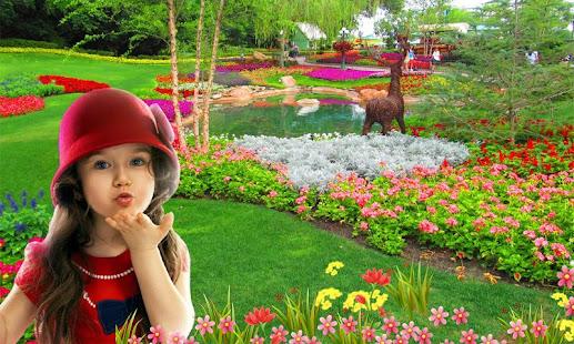Garden photo frames new - Apps on Google Play