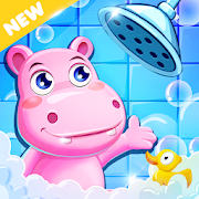 Bathe Hippo - Connect Pipes