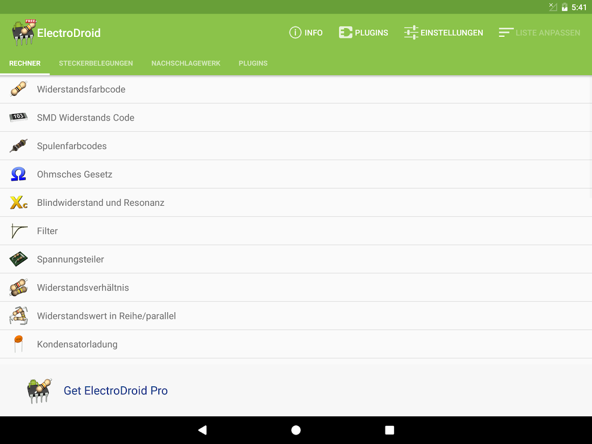 ElectroDroid – Android-Apps auf Google Play
