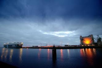 Photo: Blick auf den Außenhafen, Fotograf: Karl-Heinz Krämer