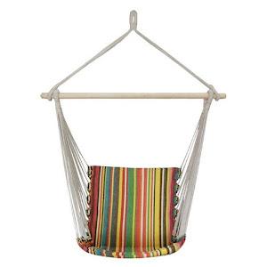 Hamac multicolor suspendat 100 x 50 cm, 100 kg, bumbac