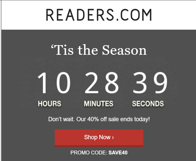 readers.com email example