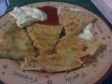 Homemade Quesadillas