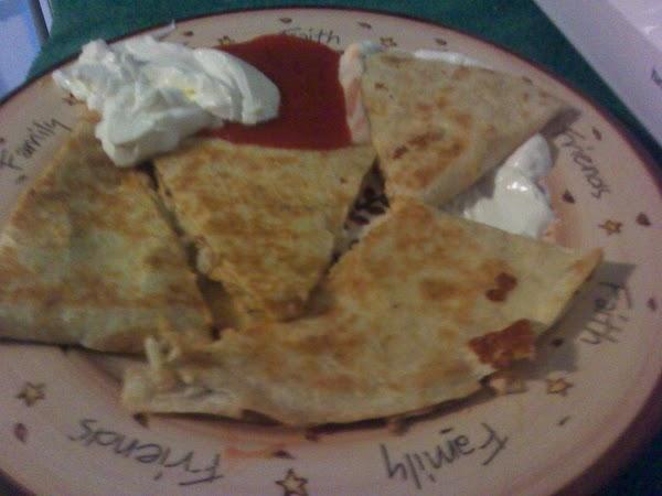 Homemade Quesadillas Recipe