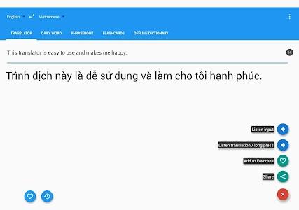Vietnamese English Translator 6.9.1 (Unlocked)