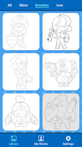 Coloring for Brawl Stars apkdebit screenshots 3