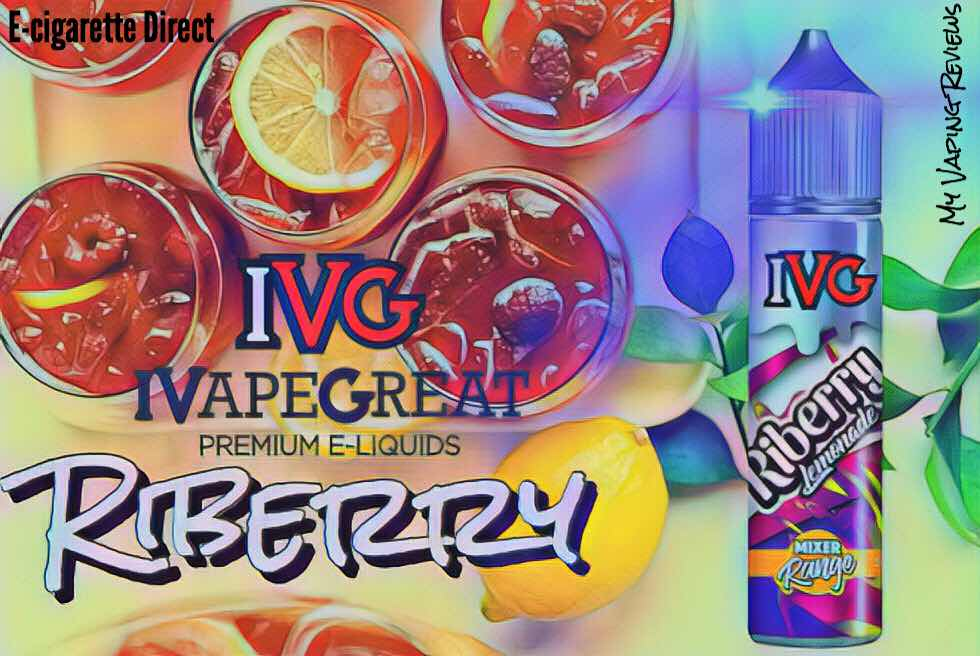 Riberry Lemonade | IVG Mixer Review from e-cigarette direct