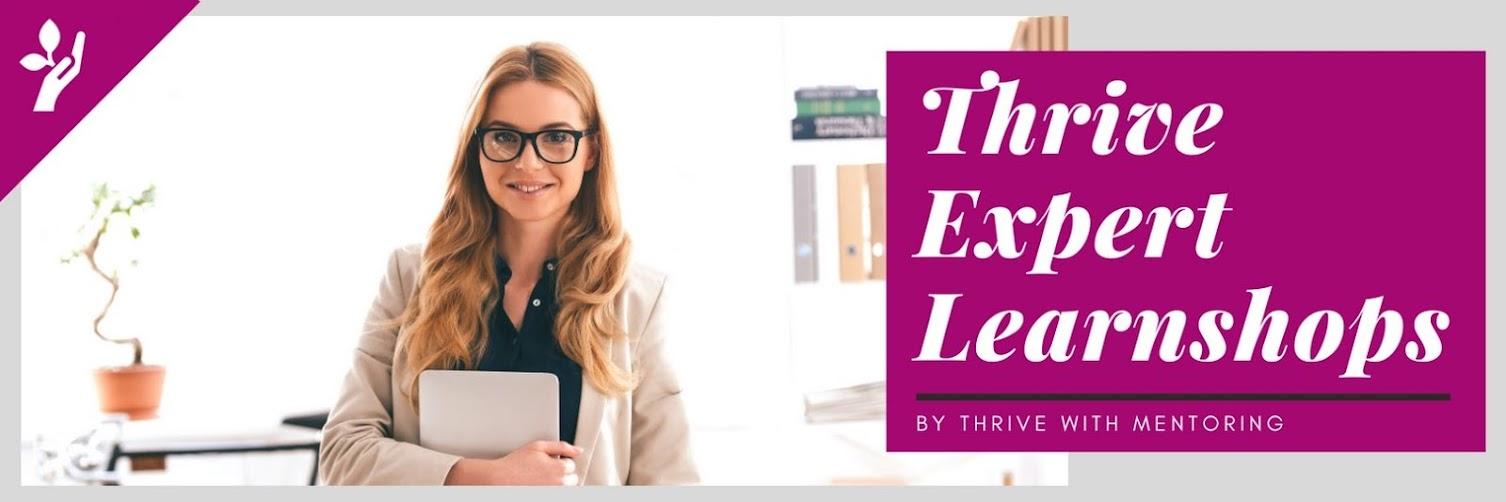 Career Accelerator on Thrive Expert Learnshops