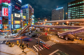 Photo: Evening Begins In Tokyo  The area around Ueno Station is one of my favorites for shooting in the city. It's so diverse! This comes from one of the many pedestrian overpasses surrounding the station.  More at my blog: http://lestaylorphoto.com/evening-begins-in-tokyo/  #japan #travel #hdr #cooljapan