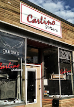 Photo: Carlino Guitars in Medford, MA proudly displaying your BBB Accreditation