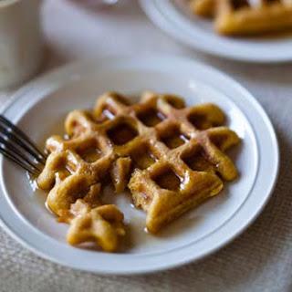 Maple Oat Waffles Recipe