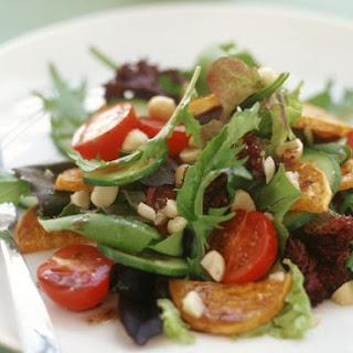 Warm Potato Salad with Leaves