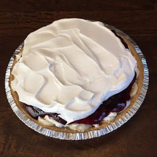 Blueberry Banana Cream Pie.