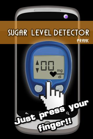 Sugar Level Detector Prank