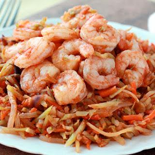 Shrimp 'n Slaw Marinara
