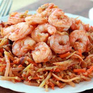 Shrimp 'n Slaw Marinara.