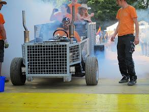 Photo: Burn out mit der Gitterbox !