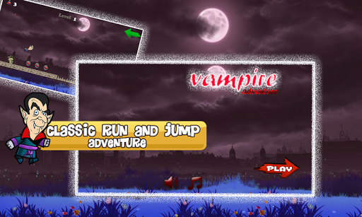 Vampire Run Adventure Game