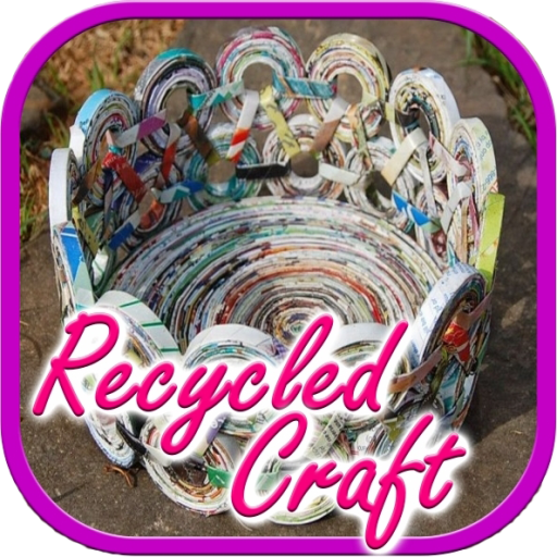 Recycled Crafts Tutorial Android APK Download Free By Ramayana Studio