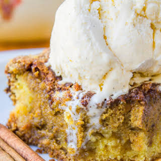 Easy Pumpkin Pie Cake.