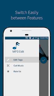MP3 Edit - náhled