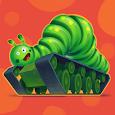 Caterpillar on Tank Track Icon