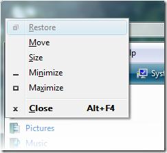 WindowsMenu