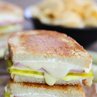 Dill Pickle Wrap Grilled Cheese.