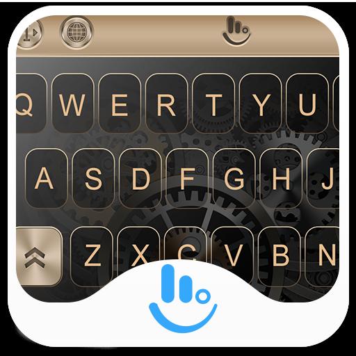 HUAWEI Gold P10 Keyboard Theme