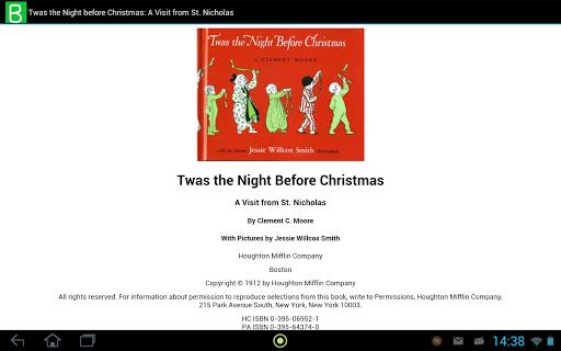 Twas Night before Christmas