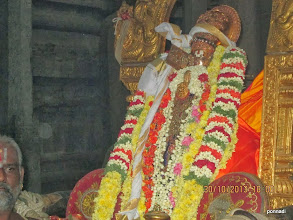 Photo: with parivattam (vasthram on the crown) from emperumAnAr