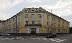 Pohľad na budovu Rektorátu UMB