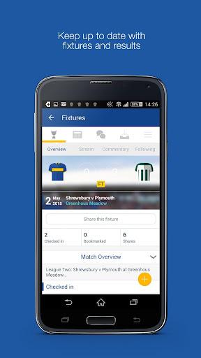 Fan App for Shrewsbury Town FC