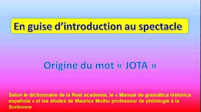 Photo: 11 - Introduction au spectacle