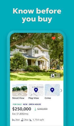 Trulia Real Estate: Search Homes For Sale & Rent 11.9.0 screenshots 1