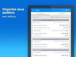 Screenshot of Meus Pedidos - força de vendas