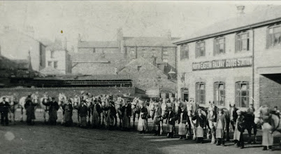 Photo: Gallows Close goods yard, see Charles Brathwaite text.