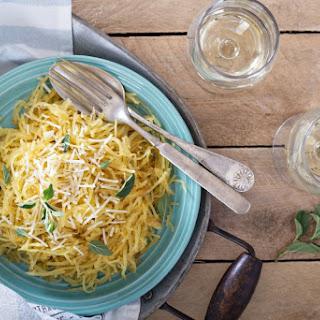 Spaghetti Squash Aglio E Olio