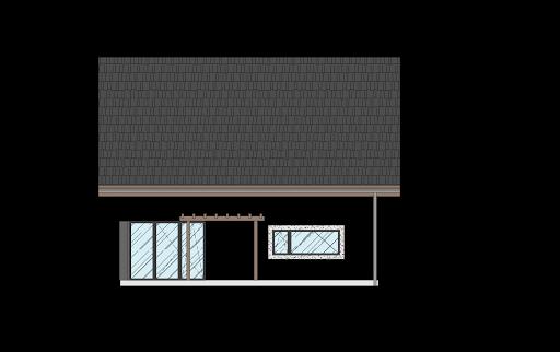 Energodom1 (oferta z budową) - Elewacja tylna