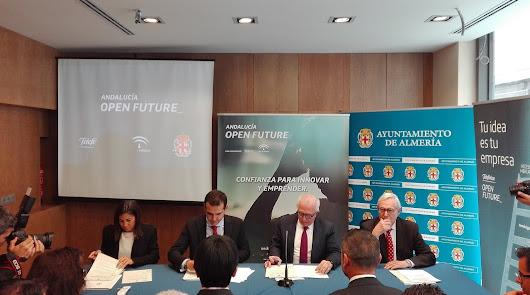 Almería albergará un centro para impulsar ideas de emprendedores