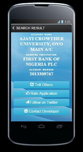 Nigerian Bank Account Verifier Screenshot 4