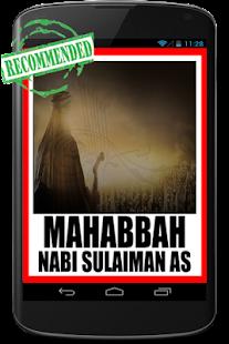 Asihan Raja Sulaiman a.s - náhled