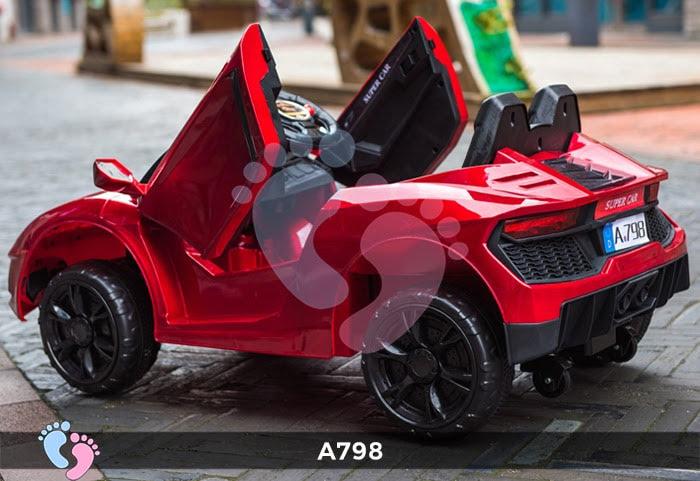 Xe ô tô điện trẻ em Lamborghini A798 3